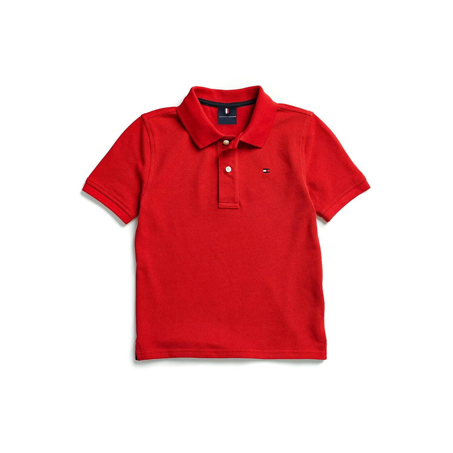 Tommy+Hilfiger Tommy Hilfiger Boys Adaptive Polo Shirt with Magnetic Buttons