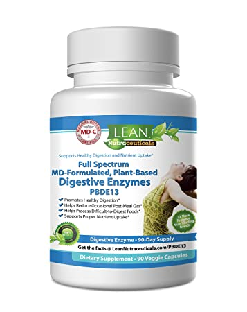 Amazon.com: MD Certified Digestive Enzyme Supplements - Plant Based ...