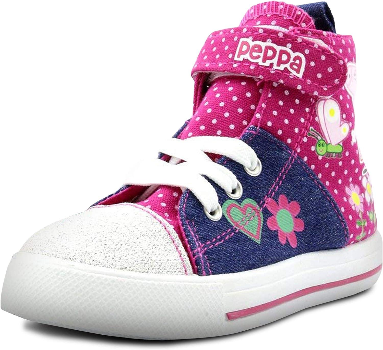 Peppa Pig Denim And Pink Toddler High