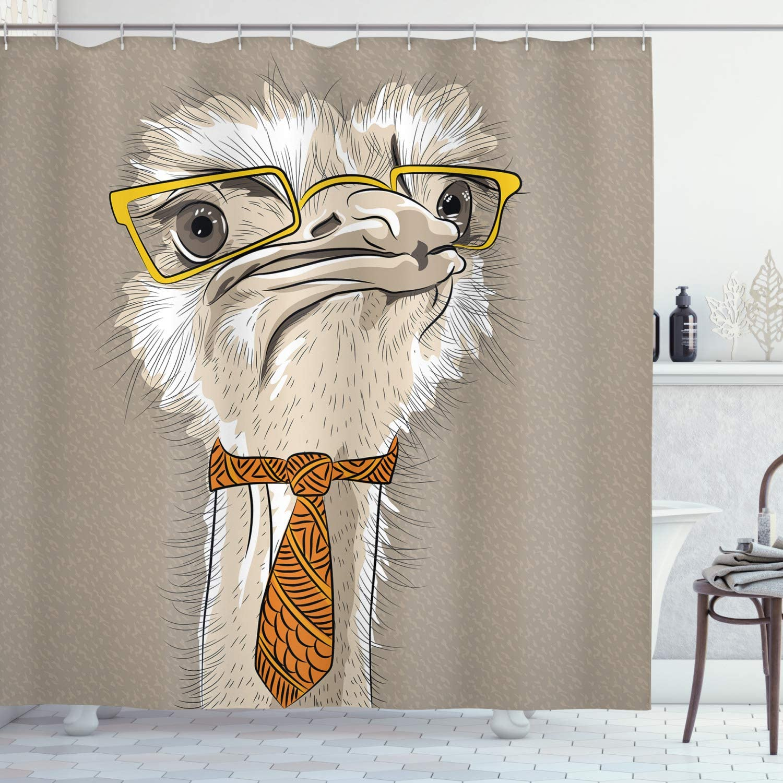 Indie cortina de ducha por Ambesonne, Sketch vertical de diseño ...