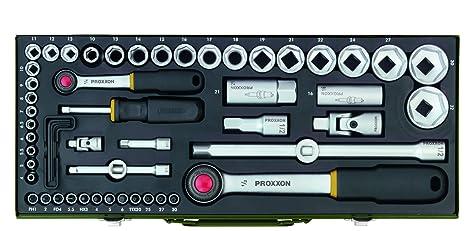Proxxon Komplett Steckschlüsselsatz 56 Teilig Umschaltknarren Aus