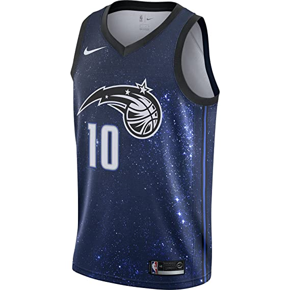 Nike NBA Orlando Magic Evan Fournier 10 2017 2018 City Edition Jersey Oficial Away, Camiseta de Hombre: Amazon.es: Ropa y accesorios