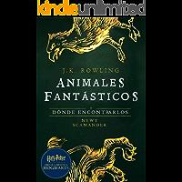 Animales fantásticos y dónde encontrarlos: Harry Potter Libro de la Biblioteca Hogwarts (Un libro de la biblioteca de…