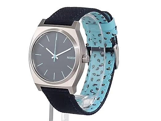Armbanduhr A0451985 Textil Damen 00 Teller Nixon Dot Quarz Time Navypaisley Analog mNw8nv0