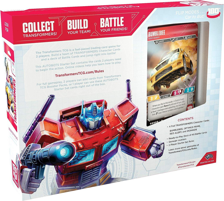 Sealed Transformers TCG Metroplex Team /& Deck For 1 Player ~ Titan Foil Scamper