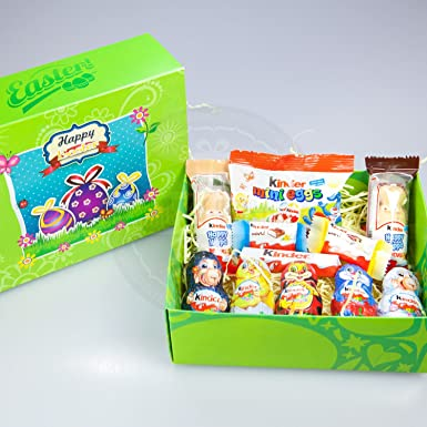 Kinder chocolate easter treasure gift box amazon grocery kinder chocolate easter treasure gift box negle