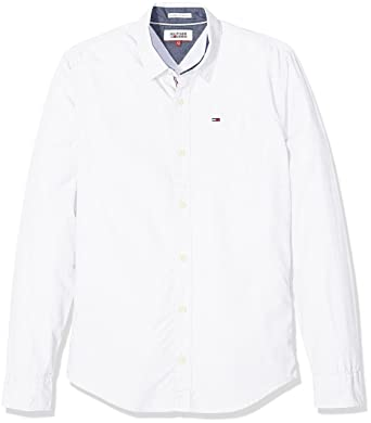 Tommy Hilfiger Original On End Shirt LS Camicia Uomo