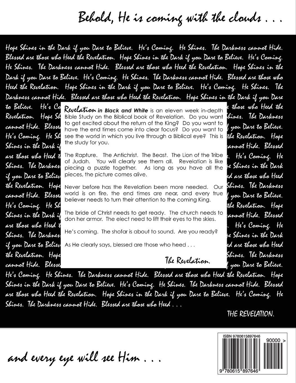 Revelation in Black and White: Nicole DiCenzo: 9780615897646: Amazon.com:  Books