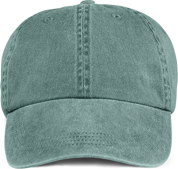 Amazon.com  Anvil Mens Solid Low-Profile Pigment-Dyed Cap(145 ... 28a4214fb24