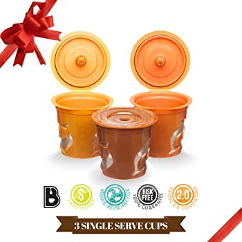 Brewooze Reusable K-cups for Keurig