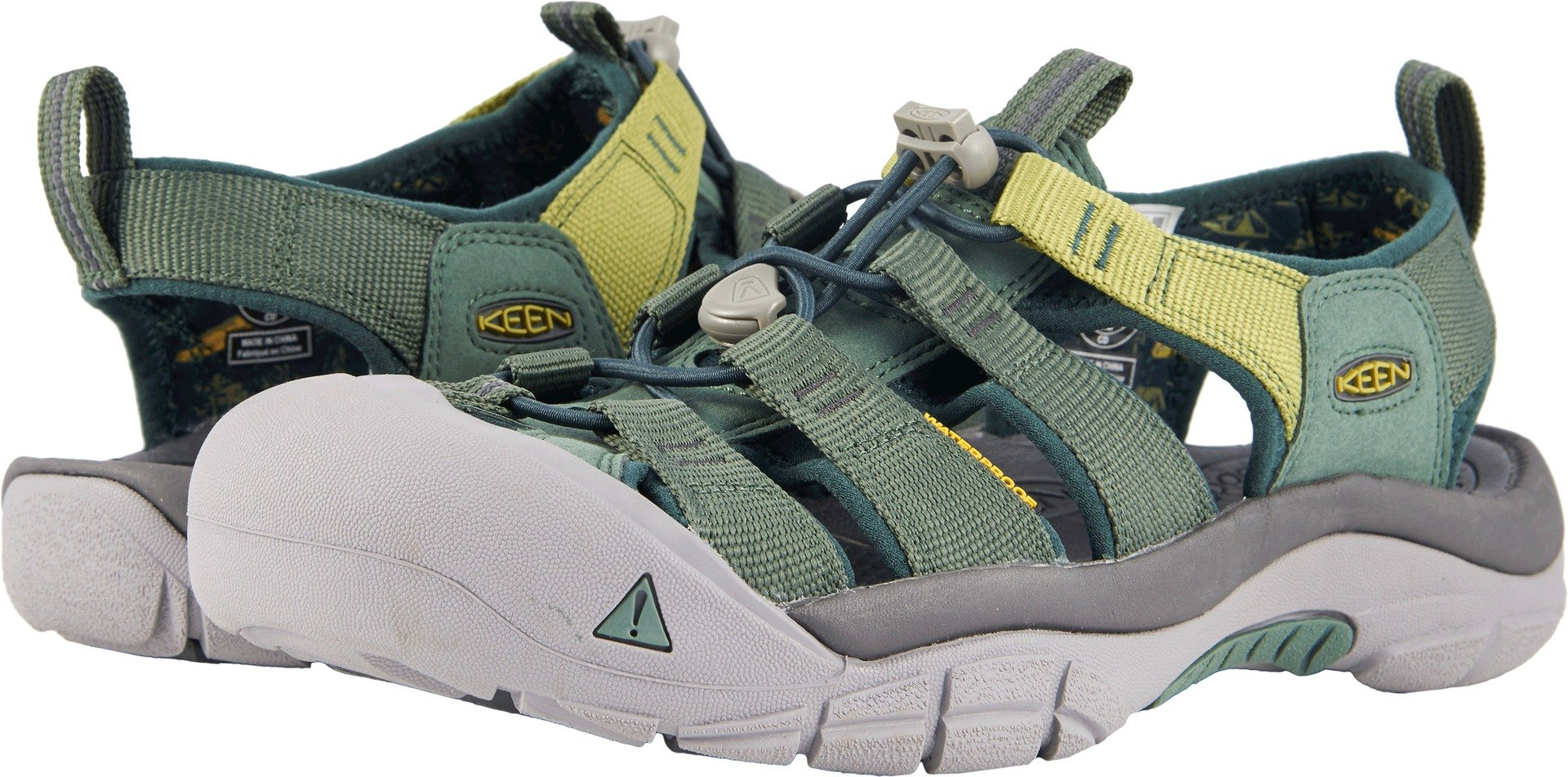 KEEN Men's Newport Hydro-M Sandal, Duck Green/Darkest Spruce, 11 M US