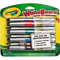 Crayola 988900 Visi-Max Broad Line Dry-Erase Markers (8 Piece)