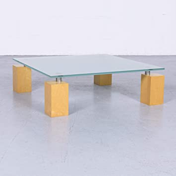 Amazon.de: ligne roset Squadra Designer Glastisch Modern ...
