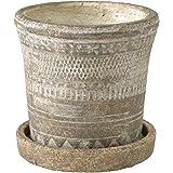 SPICE OF LIFE 植木鉢 オリンポスプランター ブラウン Sサイズ 直径13cm 高さ12.5cm CCGK1911