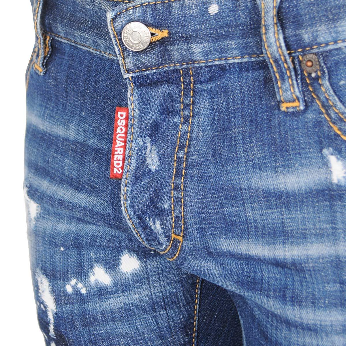 DSQUARED2 Dsquared Jeans Man Denim S71LB0314