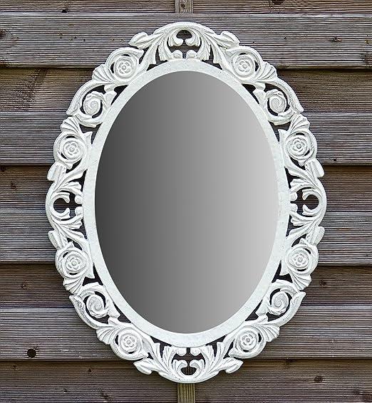 Home Furniture Diy Decorative Mirrors Wandspiegel Oval Deko Spiegel Landhaus Landhausstil Antik Vintage Spiegel Neu Mtmstudioclub Com