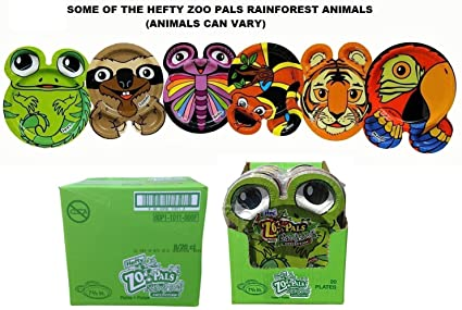 Hefty Zoo Pals Rainforest Paper Plates-20 ct 7.375 inch (Case of 8  sc 1 st  Amazon.com & Amazon.com: Hefty Zoo Pals Rainforest Paper Plates-20 ct 7.375 inch ...