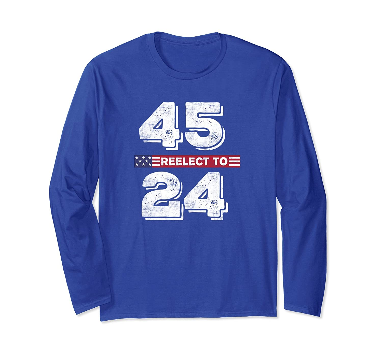 4524 Long Sleeve Shirt Pro Trump 2020 New Meme vs 8645 Shirt-ln