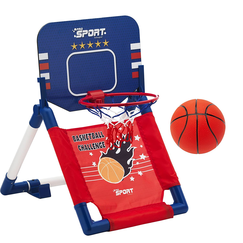 itsImagical Canasta de Baloncesto portátil para niños Imaginarium ...