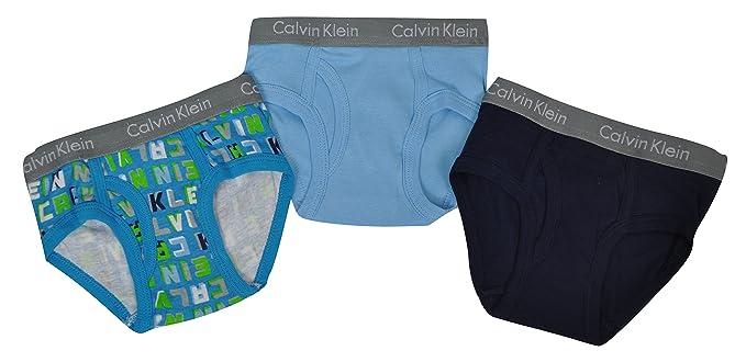 Calvin Klein - Calzoncillo - para niño Azzurro/Blu 2/3 Años