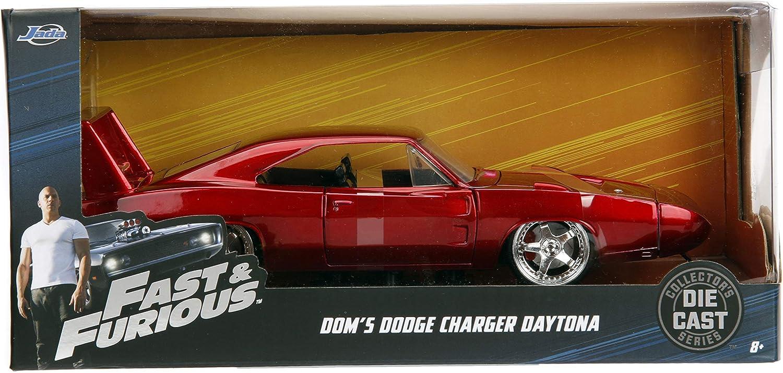 Jada Toys Fast & Furious 1 24 Diecast 1969 Dodge Charger Daytona ...