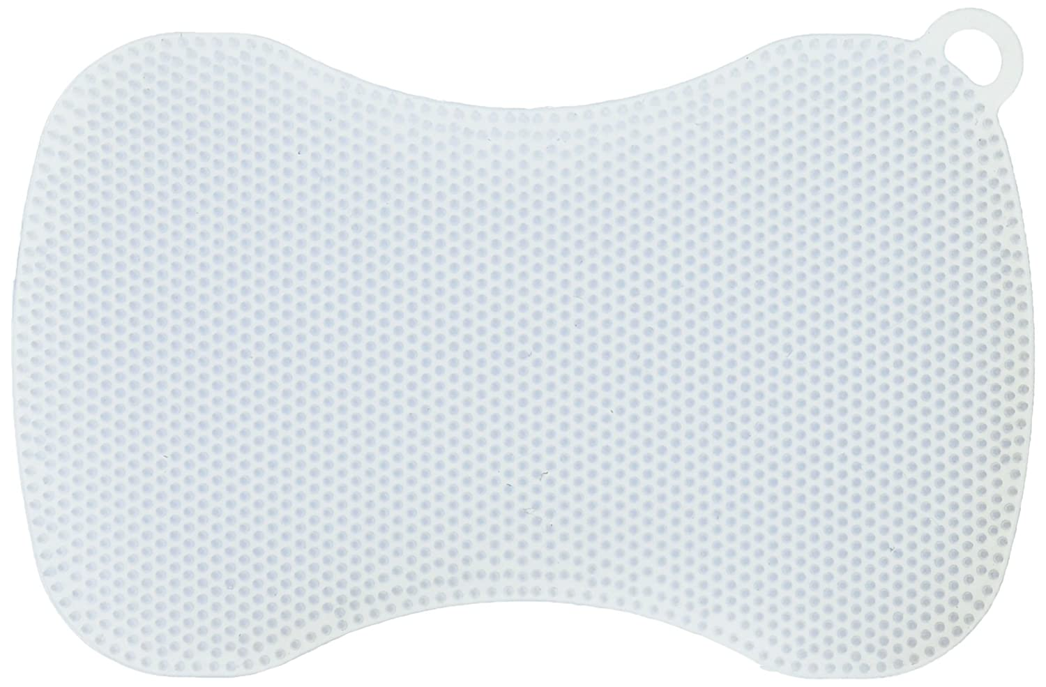 Kuhn Rikon Stay Clean Silicone Scrubber, Ice Blue