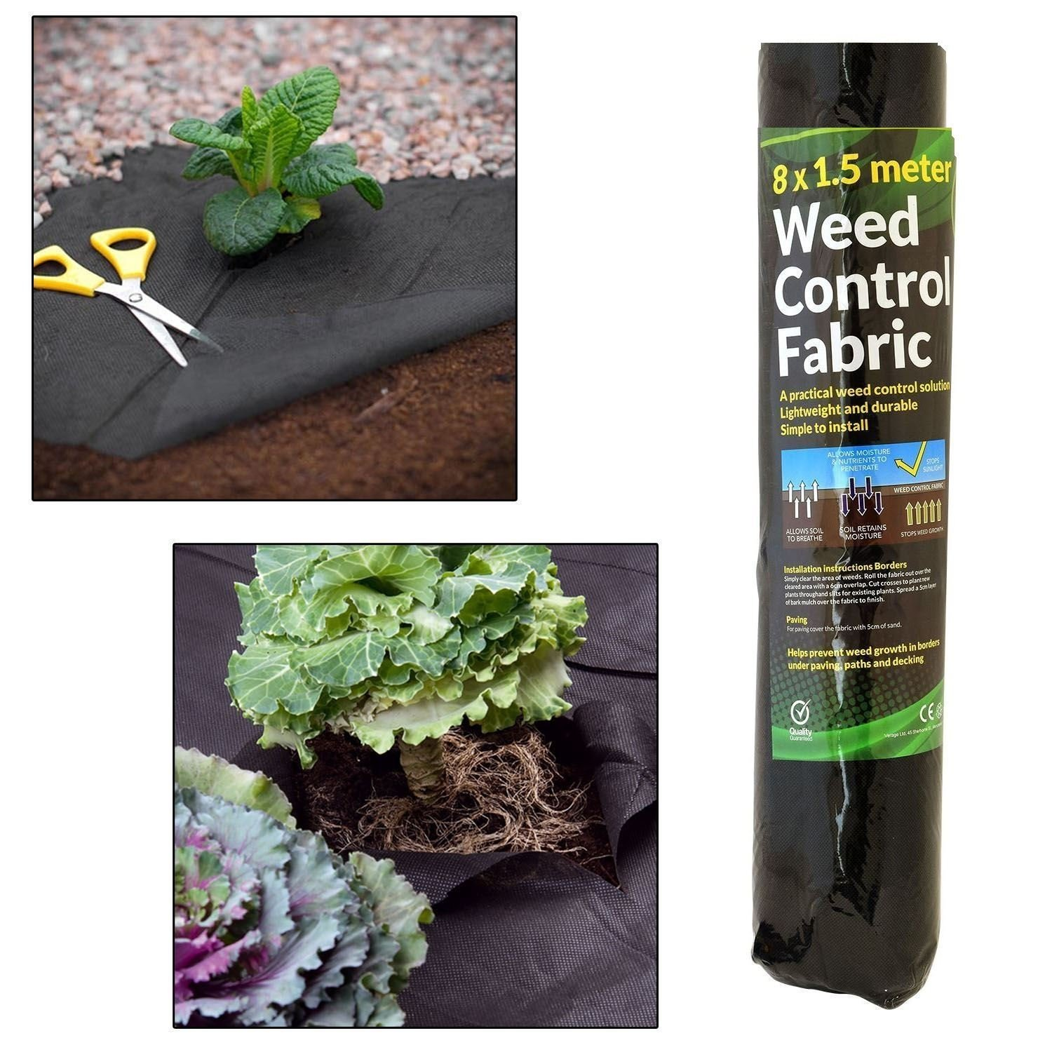 Unibos Weed Control Ground Cover Fabric Landscape Eco Friendly Membrane Heavy Duty