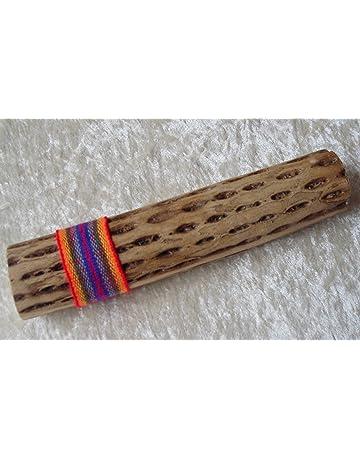 Comercio justo Cactus palo lluvia sonajero – 25 cm