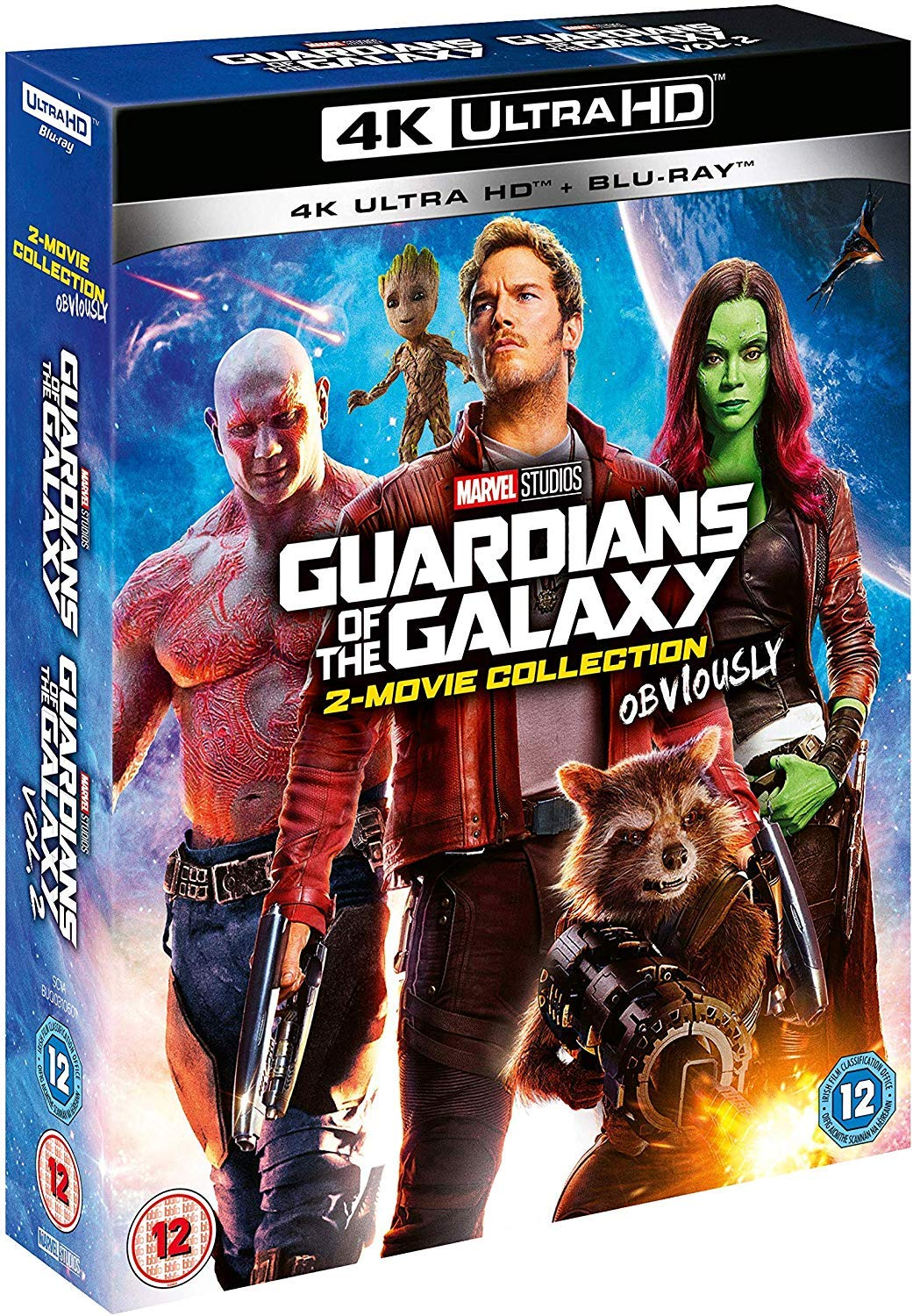 Guardians of the Galaxy 1-2 Collection [4K UHD + Blu-ray]