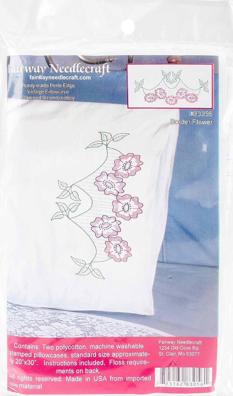 Fairway Needlecraft 83056 Perle Edged Pillowcase
