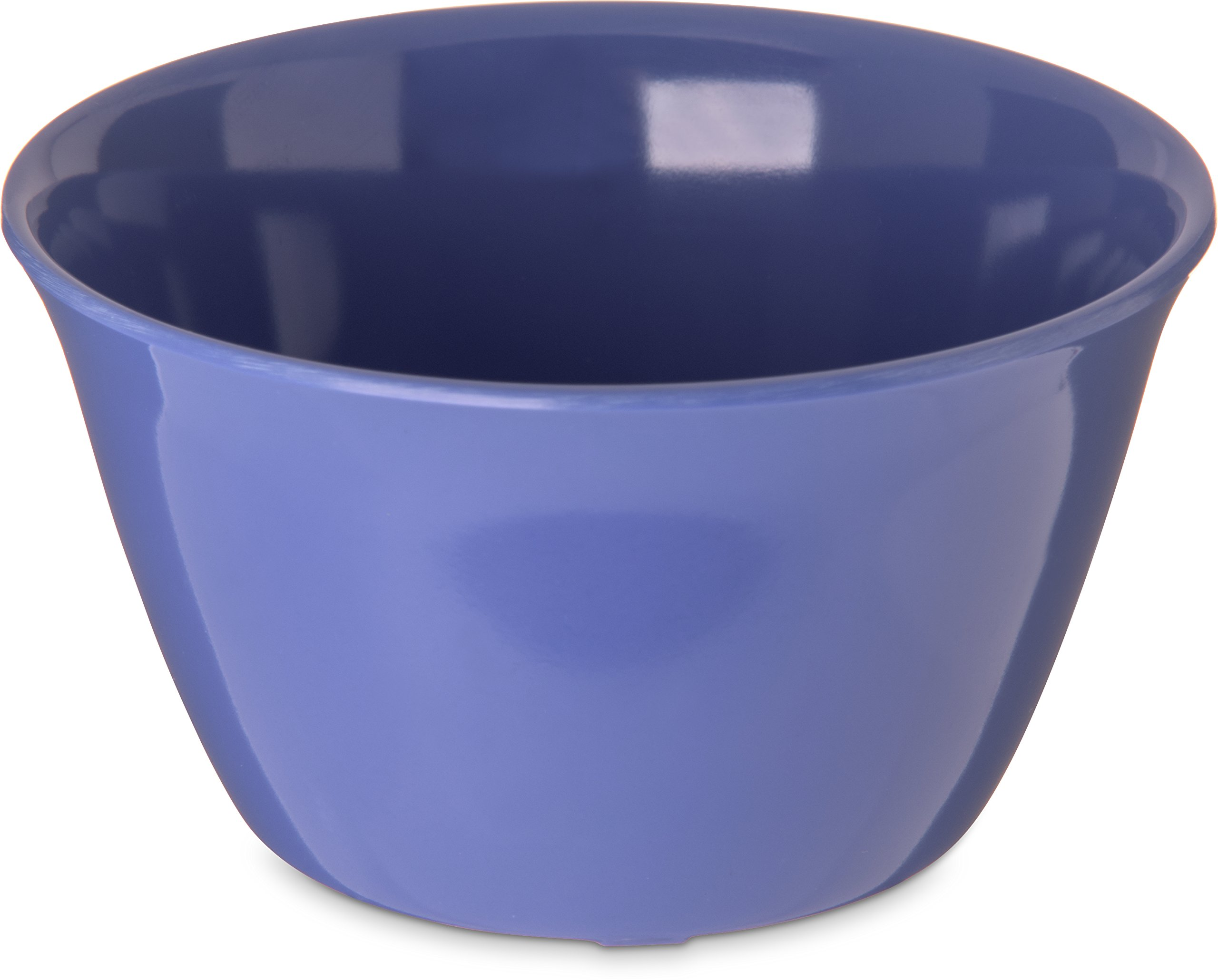Carlisle 4354014 Dallas Ware Melamine Bouillon Cup, 8-oz. Capacity, 3.84 x 2.15'', Blue (Case of 24)