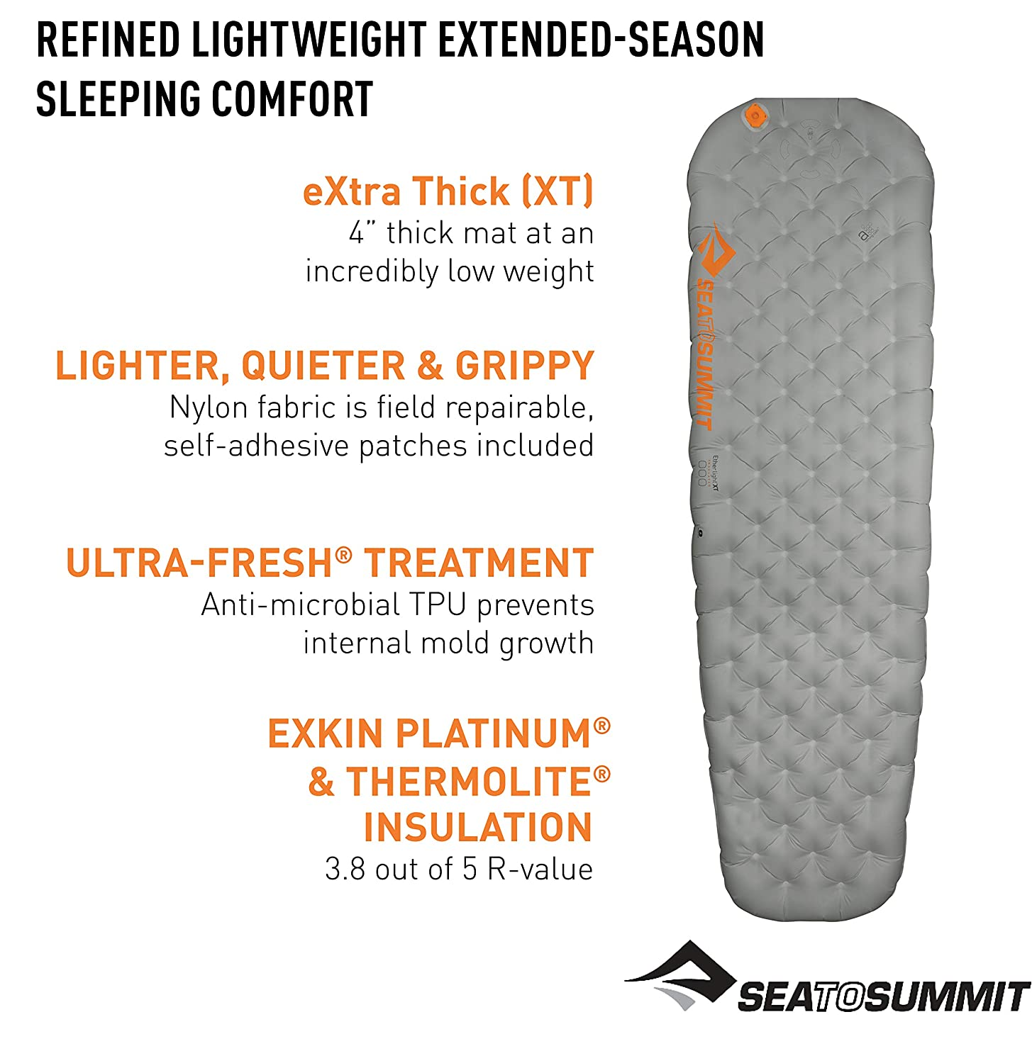 Sea to Summit Ether Light XT Insulated Matelas