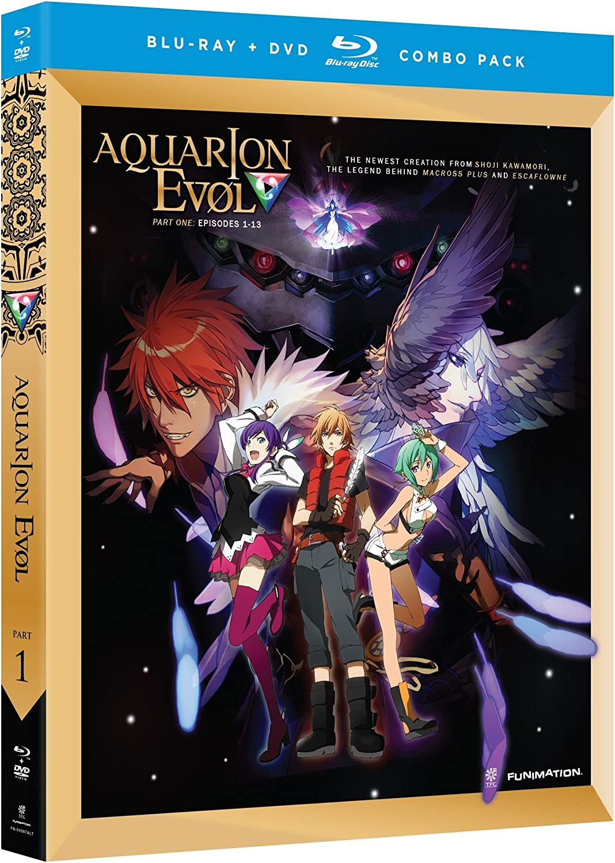 Aquarion Evol // Part 1 (Blu-ray/dvd Combo)