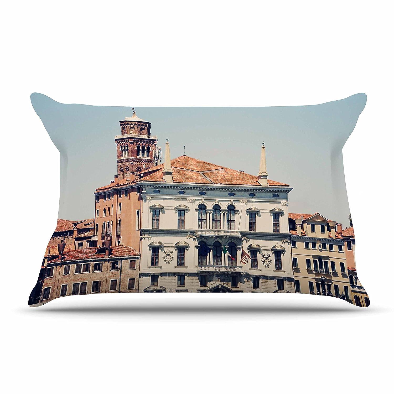 36 X 20 Kess InHouse Sylvia Coomes Venice 6 Travel Coastal King Pillow Case 36 by 20-Inch