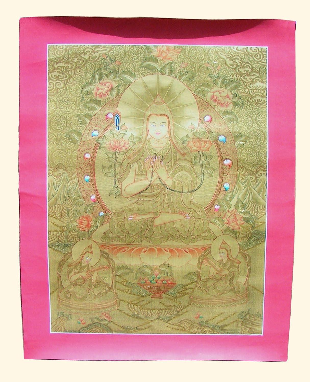 Amazon.com: Tibetan Thangka / Je TsongKhapa: Prints: Posters & Prints