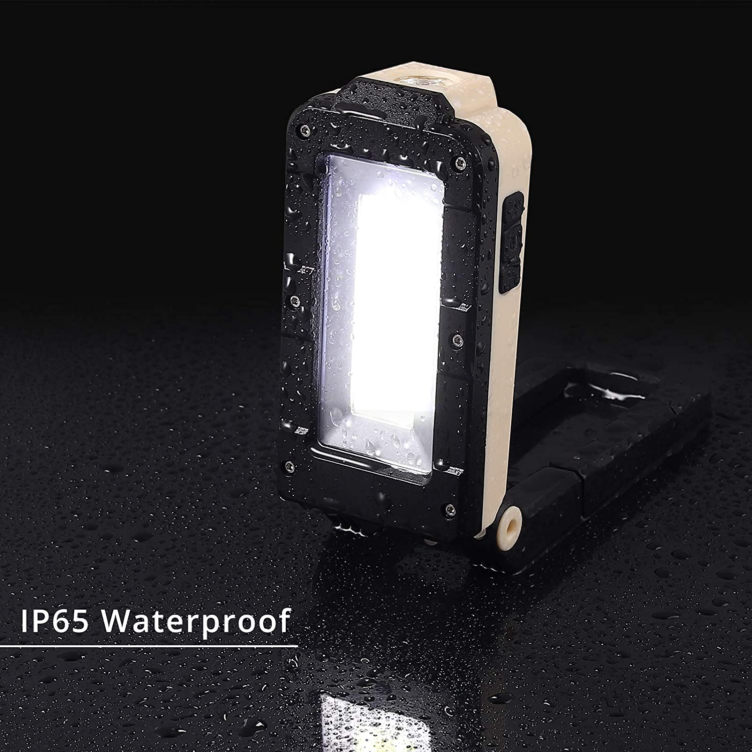 10W COB LED Magnetic Work Light Flashlight Inspection Repair Lamp Rechargeable