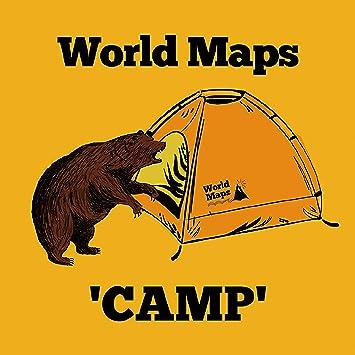 amazon camp world maps j pop 音楽