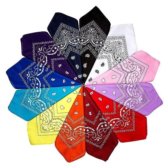 Lot of 12 High Quality Purple Cotton Headbands