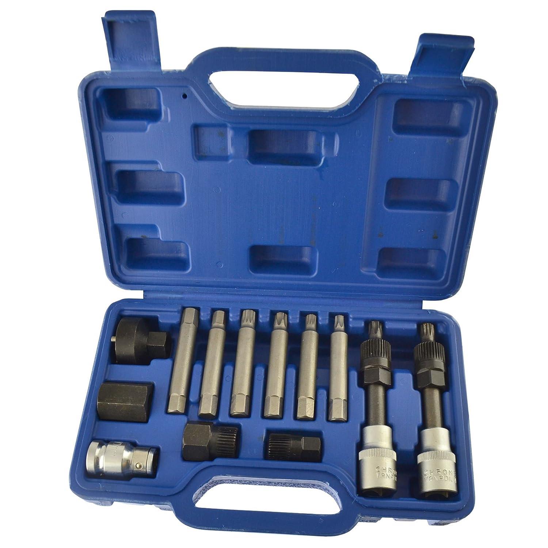 Alternator tool set / repair / removal / pulley / BOSCH 13pc kit AT169 AB Tools