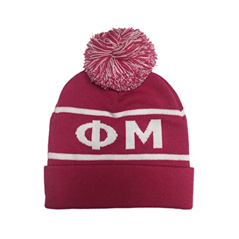 0de6939246313 Amazon.com   Phi Mu Sorority Letter Winter Beanie Hat Greek Cold Weather  Winter   Everything Else