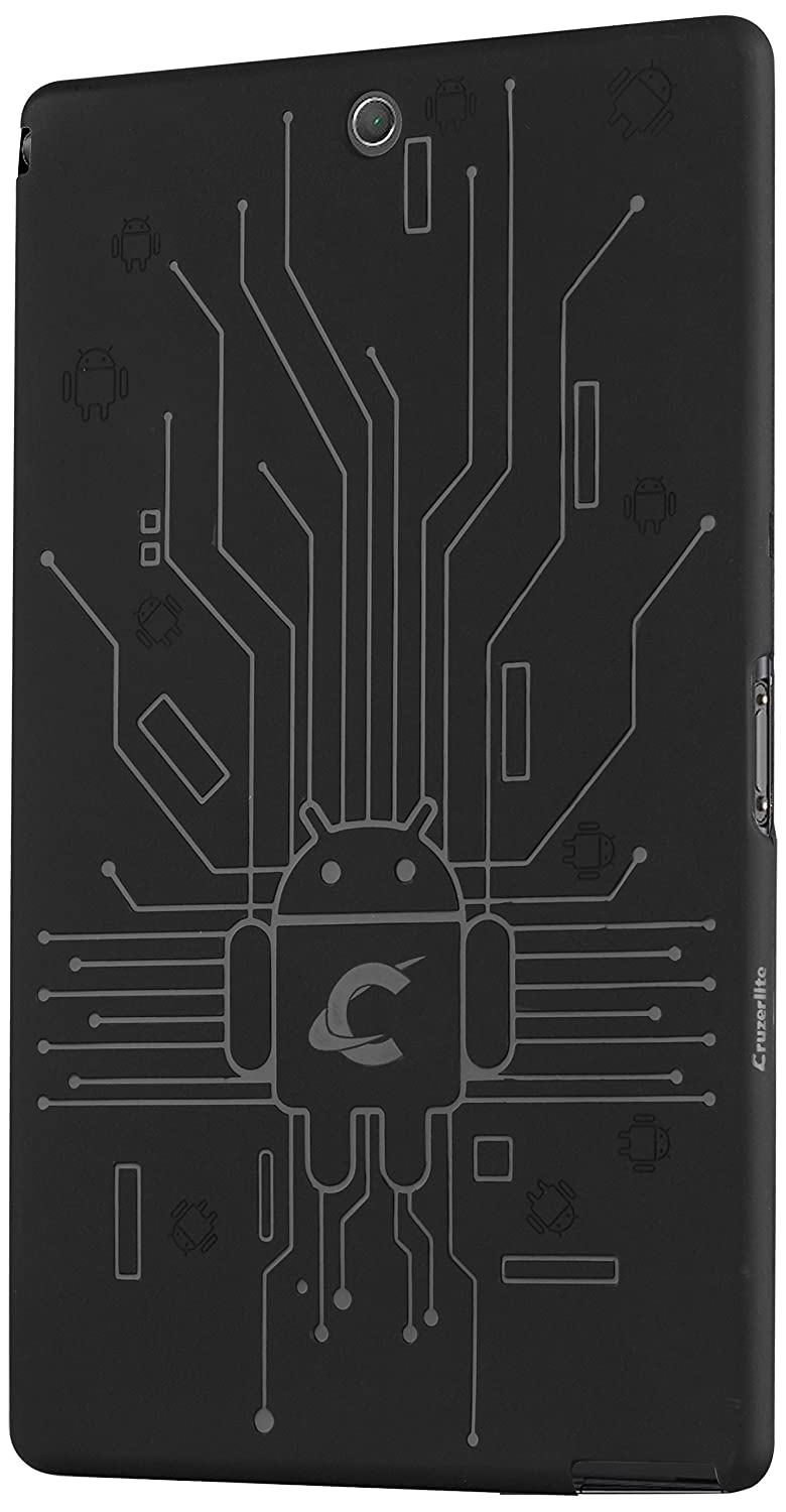 Z3 Tablet Compact Case Cruzerlite Bugdroid Circuit Sony Xperia S Diagram For Retail Packaging Black Cell Phones Accessories