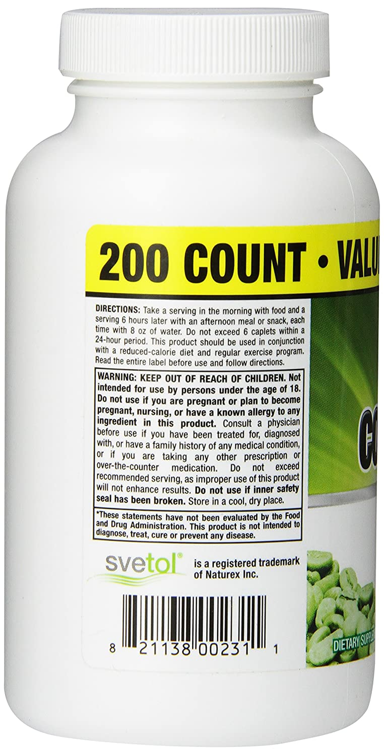 Amazon.com: Phytogenix Ultimate Green Coffee Bean, 200 Count: Health & Personal Care