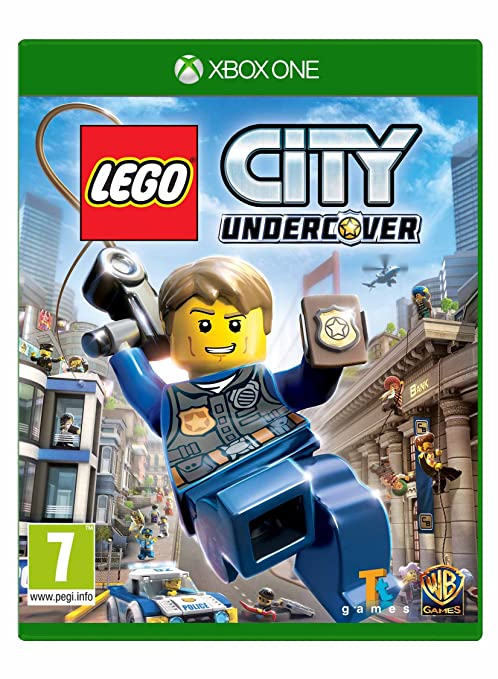 Amazoncom Lego City Undercover Xbox One Computers Accessories