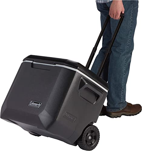 You can enjoy great values for the money from the Coleman Rolling Cooler