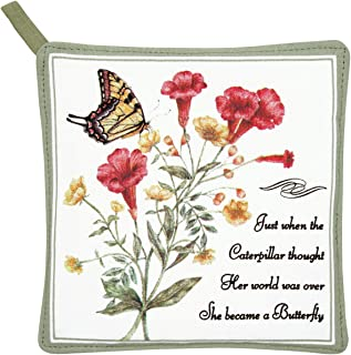 product image for Alice's Cottage AC21408 Yellow Swallowtail Pot Holder