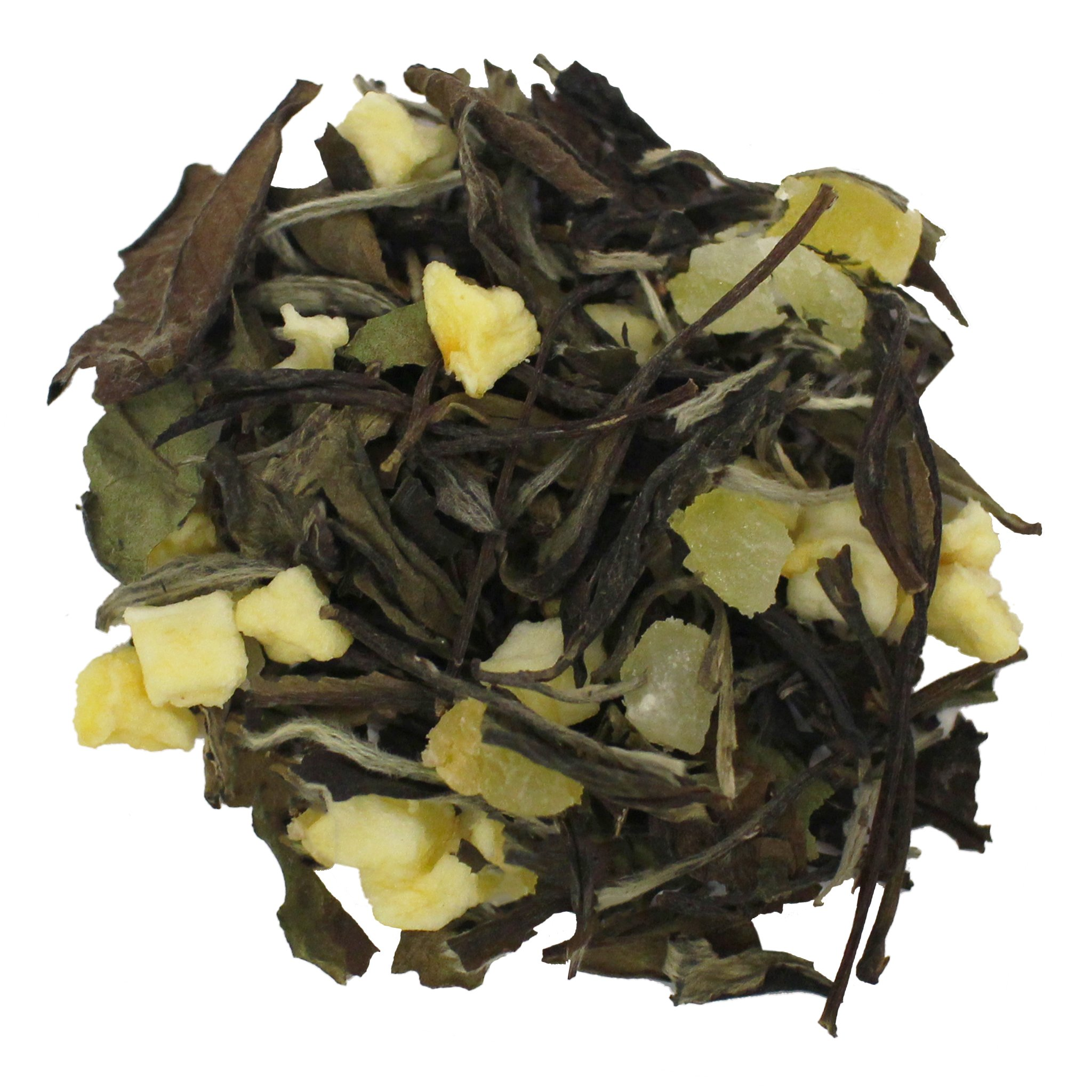 The Tea Farm - Apple Cantaloupe Tea - Loose Leaf White Tea (8 Ounce Bag) by The Tea Farm