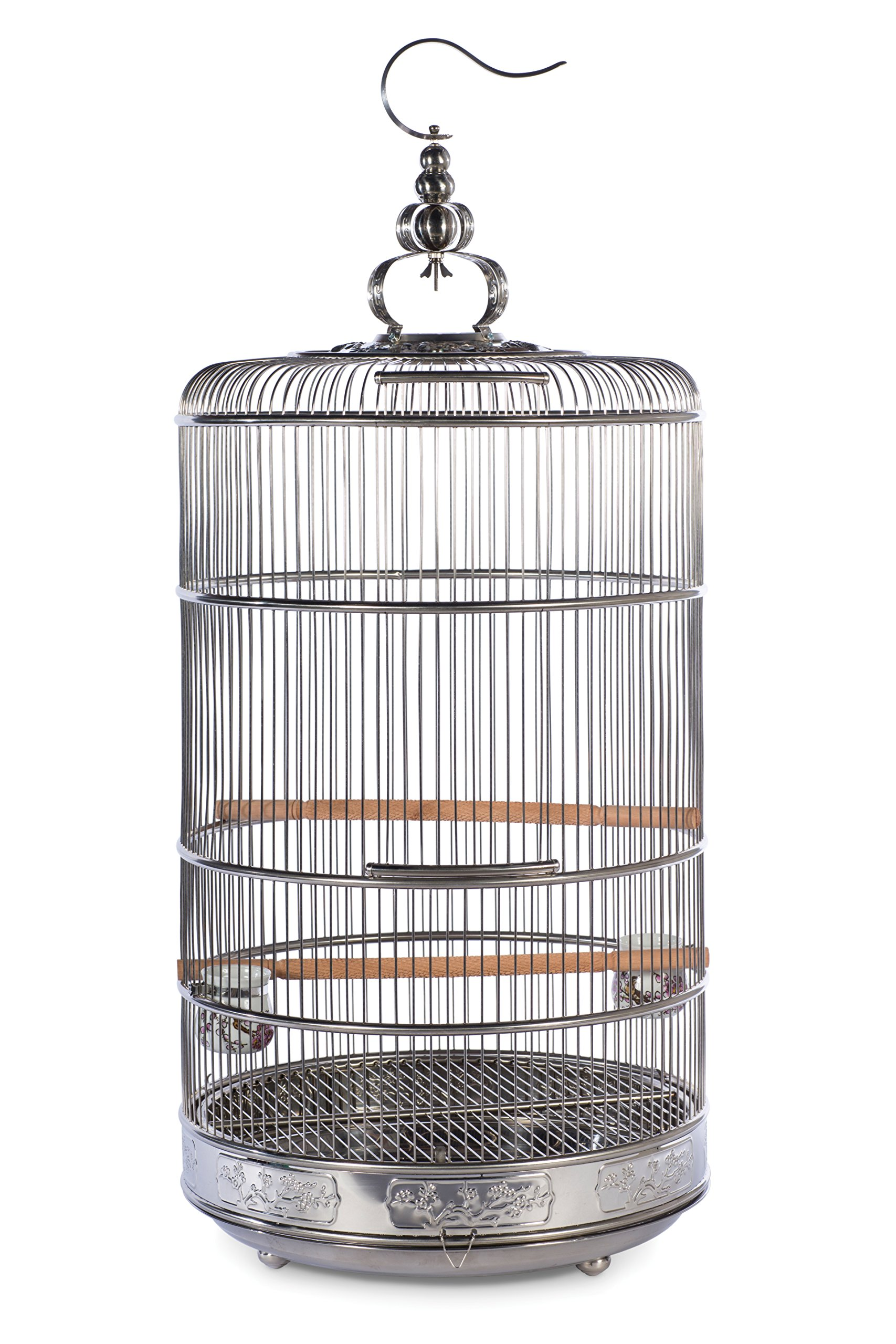 Prevue Pet Products Prevue Pet Products Dynasty Stainless Steel Bird Cage 152, Stainless Steel by Prevue Pet Products
