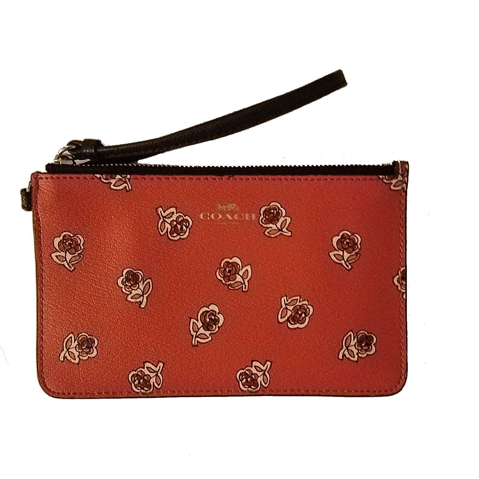 Sienna Rose Wristlet (Orange)