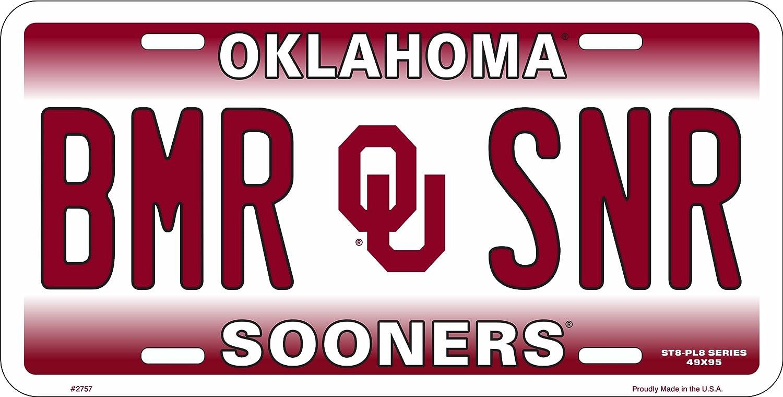 HangTime BMR SNR Oklahoma Novelty License Plate Tag City Auto tag