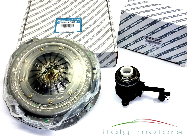 Original Alfa Romeo 147 2.0 Ts kupplungskit de acoplamiento con cojinete de desembrague - 55190114 + 55184041: Amazon.es: Coche y moto